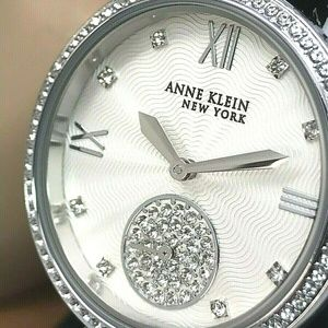 Anne Klein Women's Watch 12/2309SVSV Crystal Watch